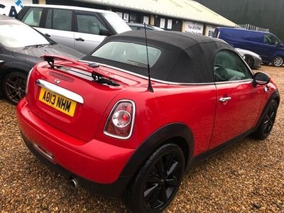 used Mini Cooper Roadster Convertible 1.6 2d