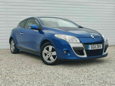 used Renault Mégane 1.6 Dynamique Tom Tom (110bhp) Coupe 2d