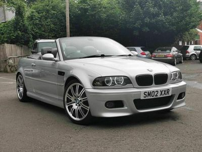 used BMW M3 Cabriolet 3.2 2dr