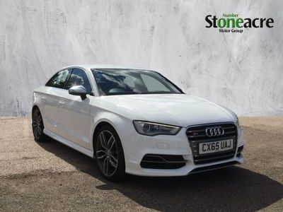 used Audi S3 2.0 TFSI Saloon 4dr Petrol S Tronic quattro (160 g/km, 296 bhp)