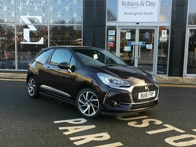 used DS Automobiles DS3 Cabriolet CABRIO 1.2 PureTech Prestige 2dr Petrol (s/s) (130 ps)
