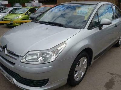 used Citroën C4 1.6 Cool Coupe 3d