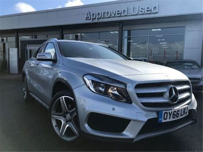 used Mercedes GLA200 GLA 2016 Honeyborough 2.1AMG Line (Executive) 7G-DCT 4MATIC (s/s) 5dr