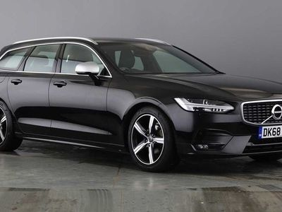 used Volvo V90 D4 (Diesel) R-Design Auto (Pilot Assist, Front and Rear Park Assist)