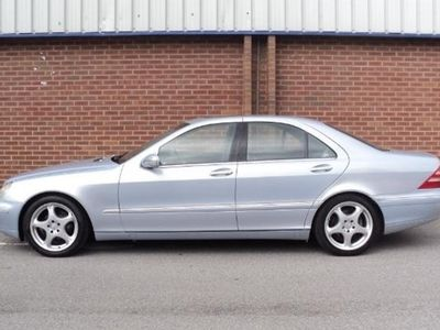 used Mercedes S320 S-Class Saloon4d Auto