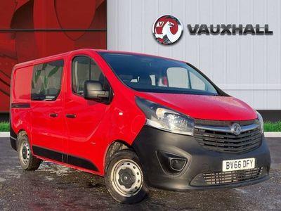 used Vauxhall Vivaro 2900 1.6CDTI 115PS H1 DoubleCab