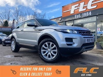 used Land Rover Range Rover evoque 2.2 ED4 PURE TECH 3d 150 BHP Coupe 2015