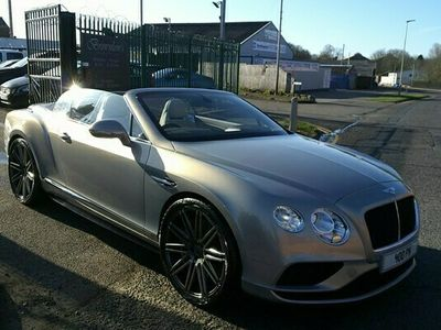 used Bentley Continental GT GTC Convertible 4.0 V8 S 2d Auto