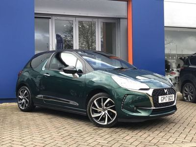 used DS Automobiles DS3 1.2 PureTech Connected Chic 3dr