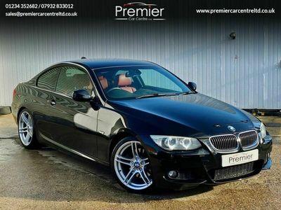 used BMW 330 3 SERIES 3.0 I M SPORT 2d 269 BHP +SAT NAV+RED LEATHER+B