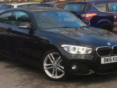 used BMW 120 1 SERIES 2016 Chorley d M Sport 3dr Step Auto