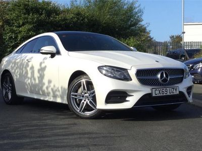 used Mercedes E50 AMG E CLASS COUPE4Matic AMG Line Premium Plus 2dr 9G-Tronic