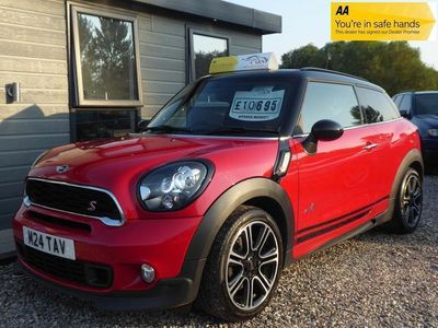 used Mini Cooper SD Paceman 2.0 ALL4 3dr