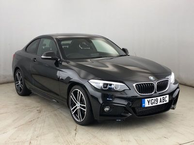used BMW 220 2 SERIES 2019 Warrington d M Sport Coupe