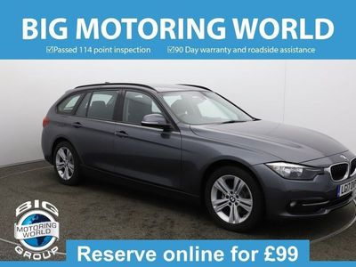 used BMW 318 3 Series I SPORT TOURING Estate 2017