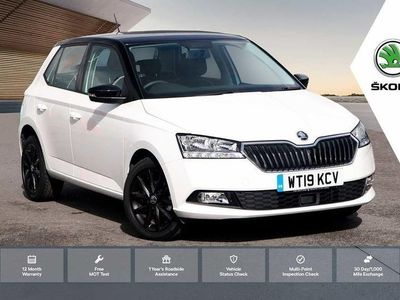 used Skoda Fabia 1.0 MPI 75ps Colour Edition s/s 5-Dr HB