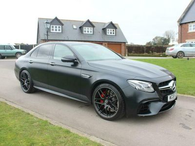 used Mercedes E63S AMG E Class4Matic+ Edition 1 4dr 9G-Tronic,VERY RARE CAR,1 OWNER
