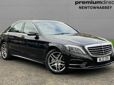 used Mercedes S350 S ClassAmg Line 4Dr 9G-Tronic 3.0