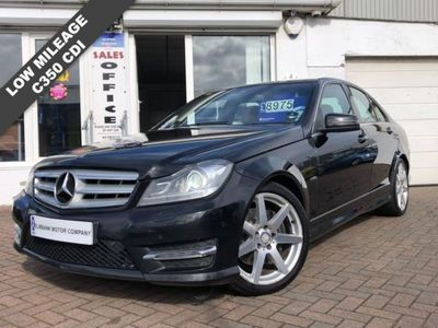 used Mercedes C350 C Class 3.0CDI BLUEEFFICIENCY SPORT 4d 265 BHP Auto 4-Door