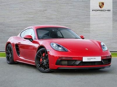 used Porsche Cayman 2.5 GTS 2dr PDK