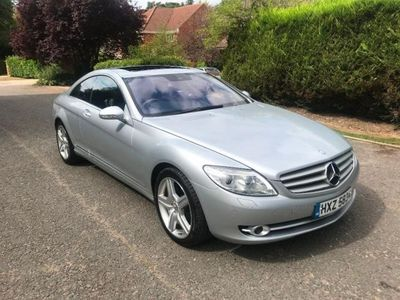 used Mercedes CL500 CL 5.52dr