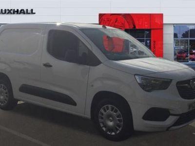 used Vauxhall Combo Combo CargoL1 Diesel 2300 1.5 Turbo D 100ps H1 Sportive Van