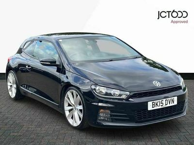 used VW Scirocco GT TDI BLUEMOTION TECHNOLOGY DSG diesel coupe