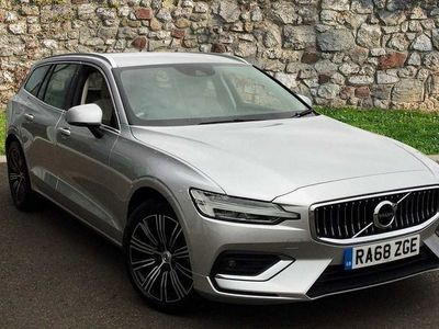 used Volvo V60 II D3 Inscription Automatic (Blond Leather interior) 2.0 5dr