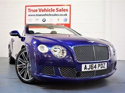used Bentley Continental GT SPEED CONVERTIBLE AUTO 626 BHP, 2014 ( )