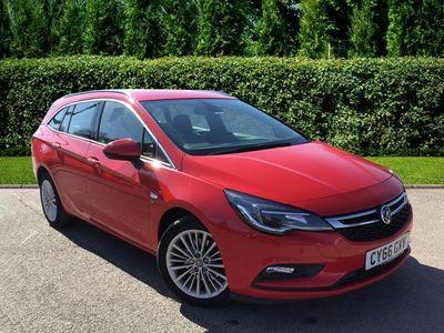 used Vauxhall Astra 5dr 1.6 Elite Nav Cdti S/S