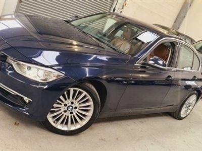 used BMW 328 3 SERIES 2.0 I LUXURY CHEAPEST ULEZ FREE FULL SH+BIG NAV+TAN LEATHER+NO ULEZ 4dr