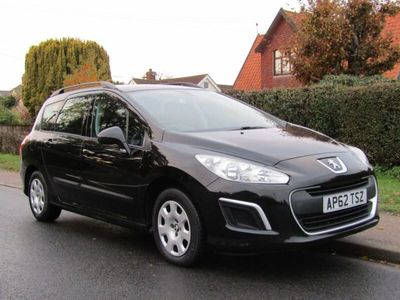 used Peugeot 308 308SW 1.6 HDI 92 S 5DR TURBO DIESEL ESTATE ** 32,000 MILES * FULL HISTORY