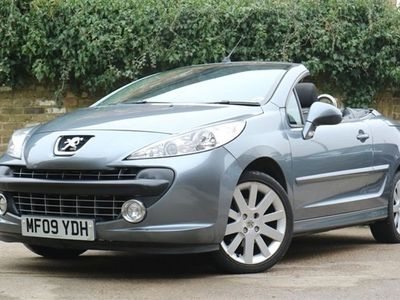 used Peugeot 207 CC 1.6 GT COUPE 2d 118 BHP