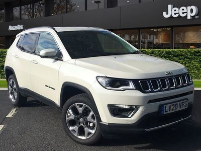 used Jeep Compass 2.0 MULTIJET 140 LIMITED 5DR