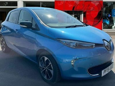 used Renault Zoe R110 41kWh Dynamique Nav Auto 5dr (Battery Lease)