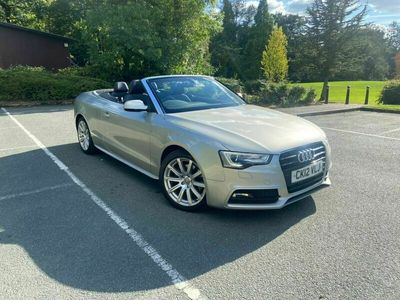 used Audi A5 Cabriolet Cabriolet 2.0 TDI S line Multitronic 2dr