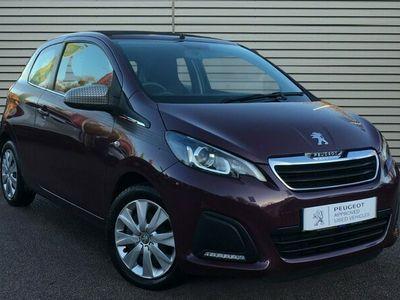 used Peugeot 108 1.0 VTi Active Top! 3dr Petrol EU5 (68 ps)