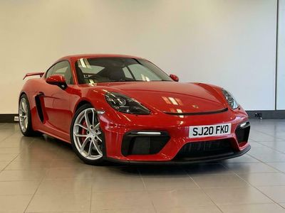 used Porsche 718 Cayman GT4 4.0 2dr Coupe 2020
