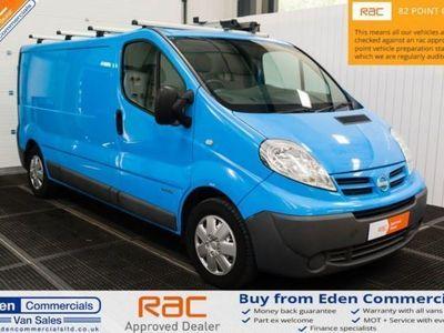 used Nissan Primastar 2.0 DCI SE SHR * EX BRITISH GAS *, 2014, Van, 68724 miles.