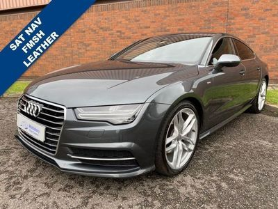 used Audi A7 Sportback 3.0 TDI QUATTRO S LINE 5d 268 BHP 6 MONTH WARRANTY INCLUDED