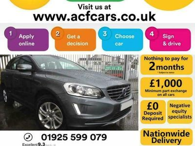 used Volvo XC60 D4 SE NAV - CAR FINANCE FR £257 PCM
