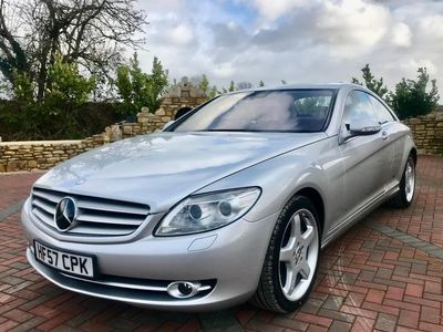 used Mercedes CL500 CL2dr Auto Lovely Condition Fully Loaded 2007