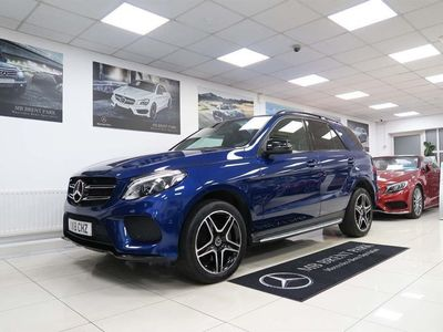 used Mercedes GLE350 GLE Class 3.0V6 AMG Night Edition G-Tronic 4MATIC s/s 5dr