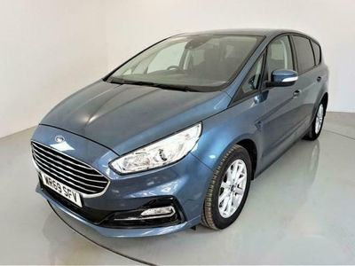 used Ford S-MAX 2.0 ZETEC ECOBLUE 5d AUTO-2 OWNER CAR-BLUETOOTH-CR diesel estate