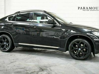 used BMW 502  X6 3.0 XDRIVE40D 4dBHP 4-Door 360 CAM + IVORY LTHR + FULL SH