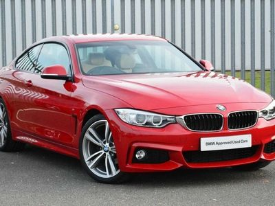 used BMW 420 4 Series i M Sport Coupe 2.0 2dr