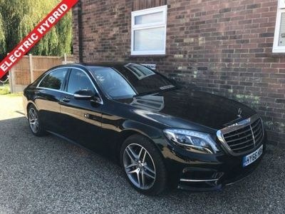 used Mercedes S300 S Class 2.1H L AMG LINE 4d 201 BHP Saloon 2016