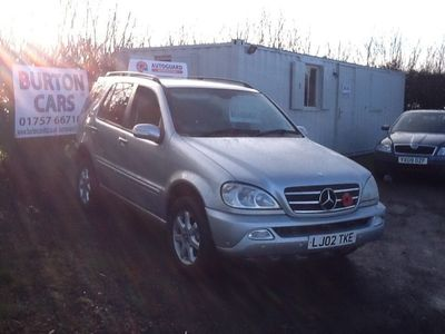 used Mercedes ML500 M Class5dr Tip Auto