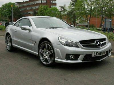 used Mercedes SL63 AMG SL 6.2AMG 2d 525 BHP ELECTRIC PAN HARD TOP SATNAV