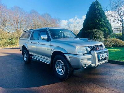 used Mitsubishi L200 2.5 TD Warrior Limited Edition Crewcab Pickup 4dr